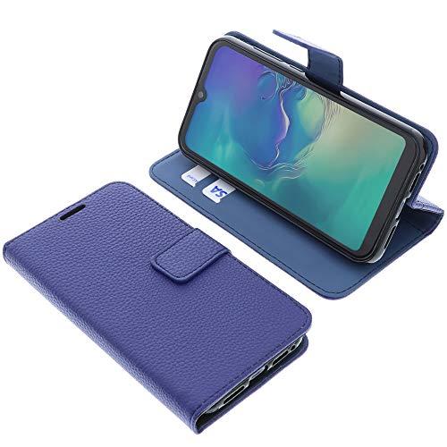 foto-kontor Tasche für KXD A1 Book Style blau Schutz Hülle Buch