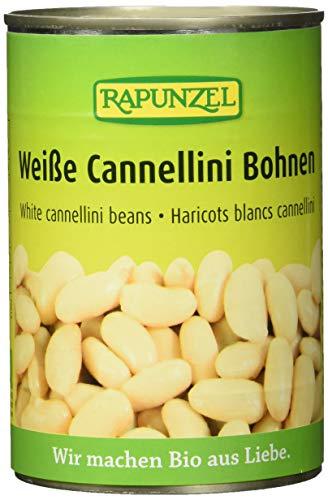 Rapunzel Weiße Cannellini Bohnen in der Dose, 6er Pack (6 x 400 g) - Bio