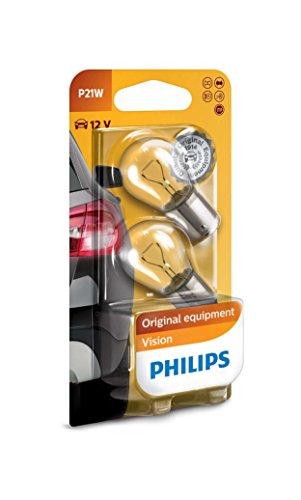 Philips P21W Premium Automotive Lighting Signaling Lamp 12v 21w 12498 (Pair)