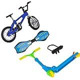 NANUNU Mini Dedo Deportes Conjunto Patinetas/Bicicletas/Oscilación Junta de Juguetes educativos Diversión Vespa de la Bici para los favores de Partido de los Cabritos Mini Decor