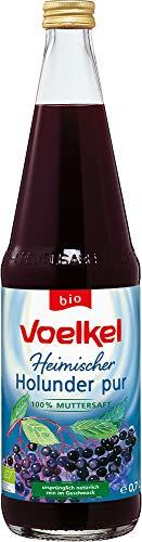 Voelkel Bio Holunder pur, bio - Muttersaft (6 x 700 ml)