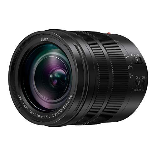 Panasonic LUMIX Professional 12-60mm Camera Lens, Leica DG Vario-ELMARIT, F2.8-4.0 ASPH, Dual I.S. 2.0 with Power O.I.S, Mirrorless Micro Four Thirds, H-ES12060 (Black)