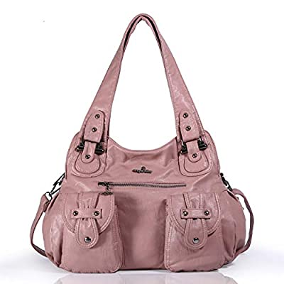 Angel Kiss Fashion sac à bandoulière pour femme sac à main en cuir synthétique imperméable Multi Usage Loisirs sac à bandoulière pour dame XS160737