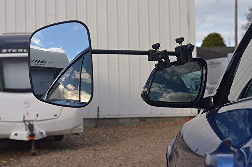 Milenco Universalspiegel Grand Aero Mirror XXL Convex, 2er-Set inkl. Spiegeltasche