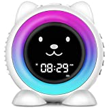 Best Children Alarm Clocks - I·CODE Kids Alarm Clock,Children's Sleep Trainer, Wake Up Review