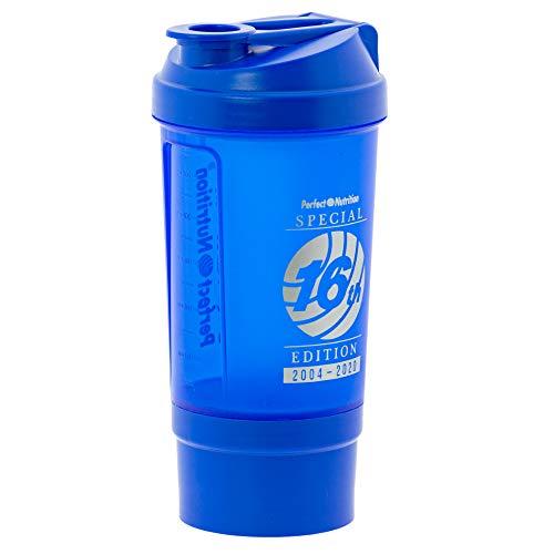 Rc Ocio Shaker proteinas Vaso batidora para Batidos de proteinas Mezclador coctelera de plástico sin BPA Shaker Bottle Botella con Compartimentos para la preparación de Batidos proteinas