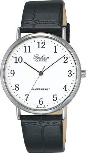 [シチズン キューアンドキュー]CITIZEN Q&Q 腕時計 Falcon (フォルコン) アナログ表示 ホワイト V722-850 メンズ - CITIZEN Q&Q(シチズン Q&Q)