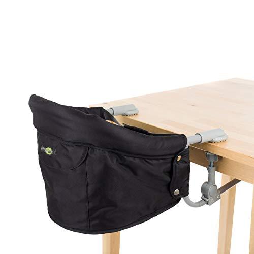 littleworld Tischsitz Luca - Babystuhl zum Befestigen am Tisch - gepolsterter Baby-Sitz mit ergonomischer Rückenlehne - ab 6 Monate geeignet