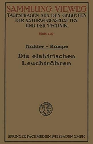 ViewegTeubner Verlag Die elektrischen Bild