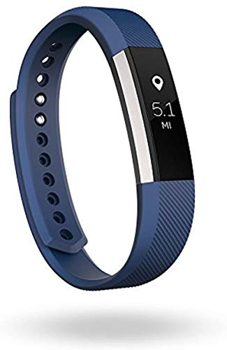 Alta Wireless Activity and Fitness Tracker Smart Wristband,Sleep Monitor,Sport Wristbands (US Version) (Silver/Blue, Small (5.5-6.7 Inch))