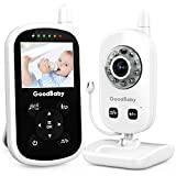 Video Baby Monitor with Camera and Audio - Auto Night Vision,Two-Way Talk, Temperature...