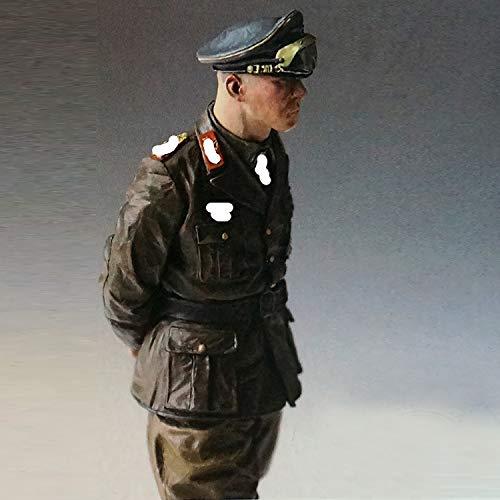 PANGCHENG 1/16 Erwin Rommel 1942, Modelo de Resina Soldado Figura GK, Tema Militar de la Segunda Guerra Mundial, Kit sin Montar y sin Pintar