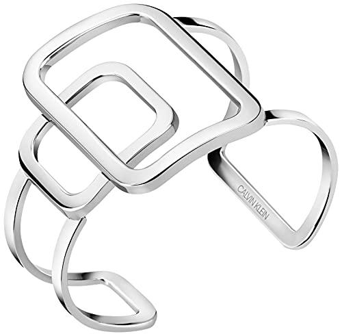 Calvin Klein Damen-Armreif Perky Edelstahl KJDRMF00010S S