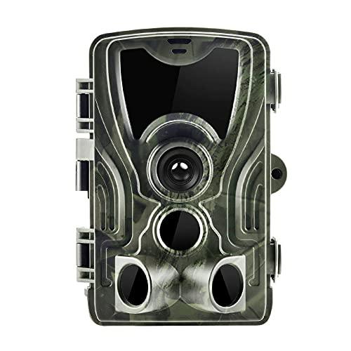 Iriisy Fototrappola Victure Fotocamera Caccia 16MP 1080P HD Impermeabile IP65 Fototrappola Infrarossi Invisibili con 0.3s Velocità di Innesco Fino a 75ft/22m