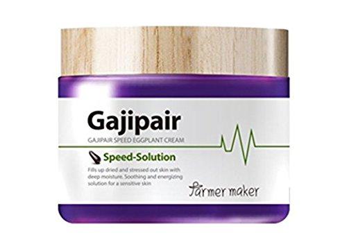 Farmer Maker gajipair Speed Eggplant Organic Facial Cream 70 ml/Whitening and Anti Wrinkle
