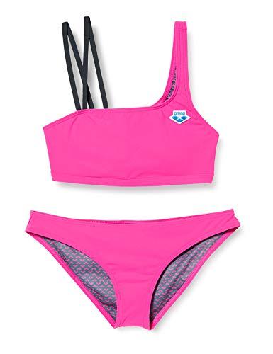 ARENA Icons Mono - Bikini para Mujer, Mujer, Parte Superior de Bikini, 003111, Rosa Flambe', 40