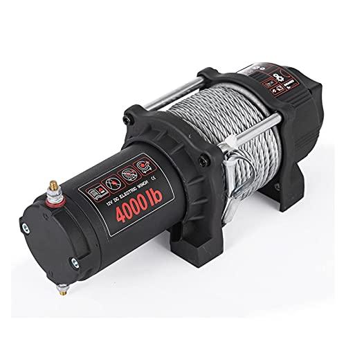 YXZQ Maquina de soldar electrica 4000 Lbs Cable de Acero eléctrico Cable de Acero Electric ATV Cable de Acero con Control Remoto de Radio Herramientas de Soldadura
