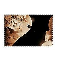 ランチョンマット 食事マット 30*45 cm 4枚セット バットマン ジョーカー 食卓マット 雰囲気アップ 家庭用 レストラン用 撥水加工 防汚 断熱 インテリア雑貨 抗菌 無臭 北欧 飾り 滑り止め 水洗い可能
