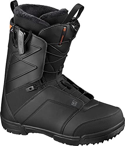 Salomon Faction Mens Snowboard Boots Black Sz 13.5...