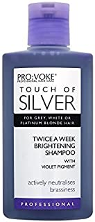 6 x Touch Of Silver Brightening Shampoo by Pro-Voke