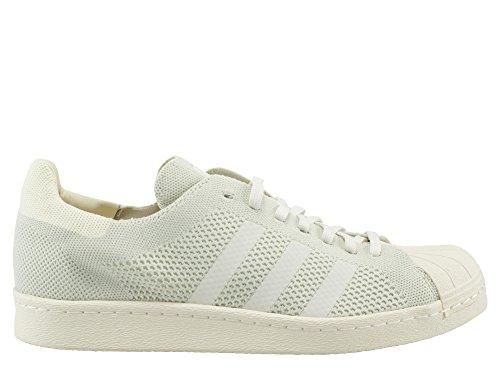Adidas Superstar 80's Primeknit Hombre Zapatillas Blanco