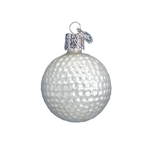 Old World Christmas Ball Golf Lover Gifts Glass Blown Ornaments for Christmas Tree, Standard