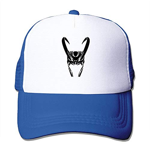 Riverrun Flux Pattern Snapback Hats Loki Helmet Logo Flat Mesh Cap Black