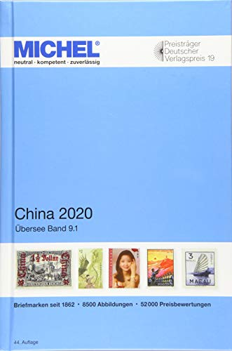 MICHEL China 2020: Übersee 9.1 (MICHEL-Übersee / ÜK)