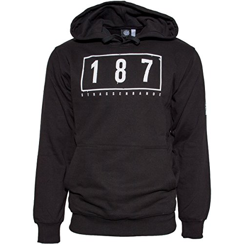187 Strassenbande Original SA4 Hoody Schwarz L