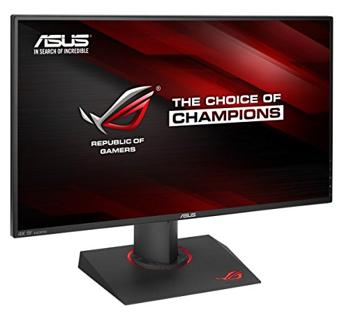 "ASUS ROG Swift PG27AQ 27"" Gaming Monitor 4K/UHD (3840x2160) IPS 4ms G-SYNC Eye Care with DP and HDMI Ports (Renewed)"