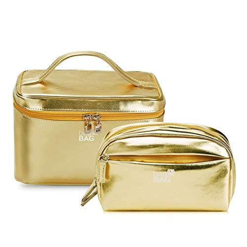 LN-Cosmetic bag Grande Trousse de Toilette pour Hommes et Femmes, Trousse de Toilette de Maquillage, Trousse de Toilette imperméable cosmétique pour Un Voyage d'affaires