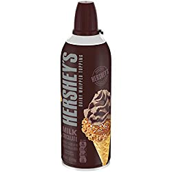 Hershey's Milk Chocolate Dairy Whipped Topping (7 oz Aerosol Can)