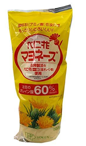 創健社 べに花オレインマヨネーズ 500g×5個            JAN:4901735000753