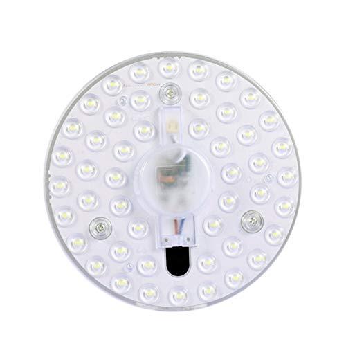 Peanutaso Panel de luz LED Lámpara de Techo Redonda Tablero
