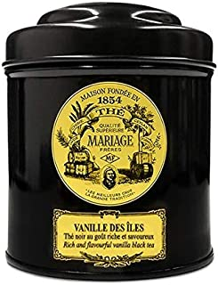MARIAGE FRERES. VANILLE DES ILES, 100g Loose Tea, in a Tin Caddy (1 Pack) Seller Product Id MRLS63 - USA Stock