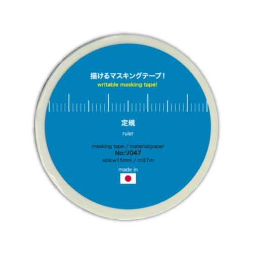 菅公工業 描けるマスキングテープ 定規 リ047