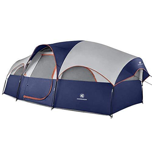 HIKERGARDEN Camping Tent - Quick & Easy Setup Camping Tent, Professional Waterproof & Windproof...