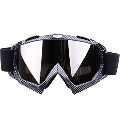 EDSWXT Lunettes D'Équitation Lunettes De Vélo De Vélo Ski Snowboard Dustproof Lunettes De Soleil Goggles Lens Frame Eye Glasses, Rose