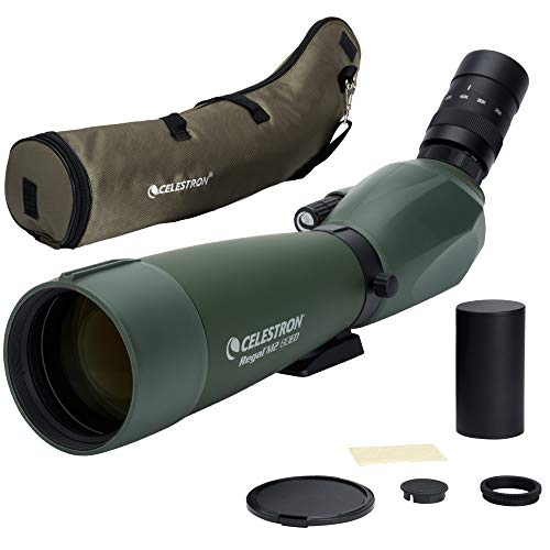 Celestron Regal M2 80ED Spotting Scope – Fully Multi-Coated Optics – Hunting Gear – ED Objective Lens for Bird Watching, Hunting and Digiscoping – Dual Focus – 20-60x Zoom Eyepiece
