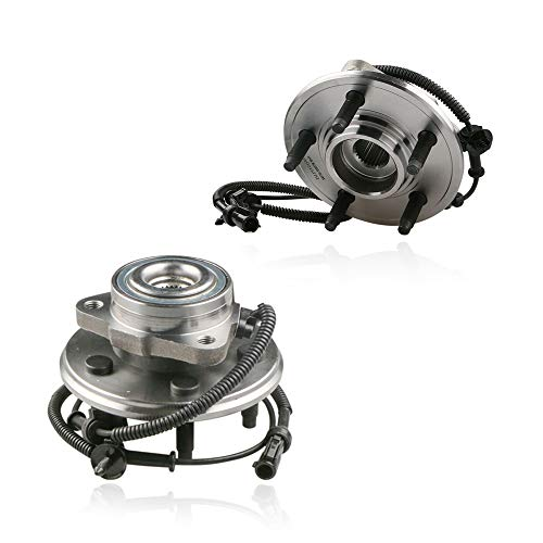 MOSTPLUS Wheel Bearing Hub Wheel Hub and Bearing Assembly 515050X2 Compatible for Aviator Explorer Mountaineer EXCLUDES Sport Trac 4x4 With ABS 5 Lug (Set of 2)
