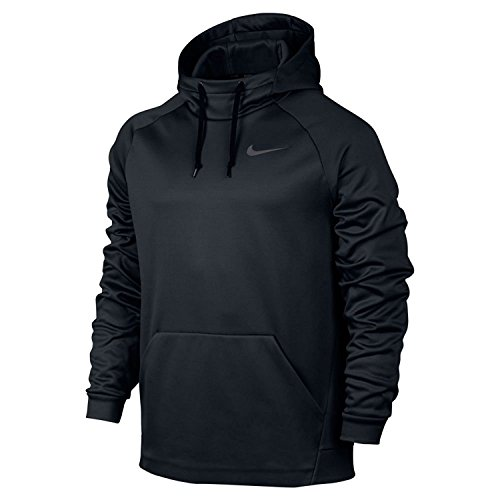 Mens Nike Therma Training Hoodie Black/Dark Grey Size X-Large
