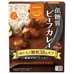 サラヤ ロカボスタイル 低糖質ビーフカレー 140g×24(6×4)箱入×(2ケース)