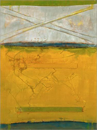 Posterlounge Hartschaumbild 60 x 80 cm: Yellic von MASCH Art