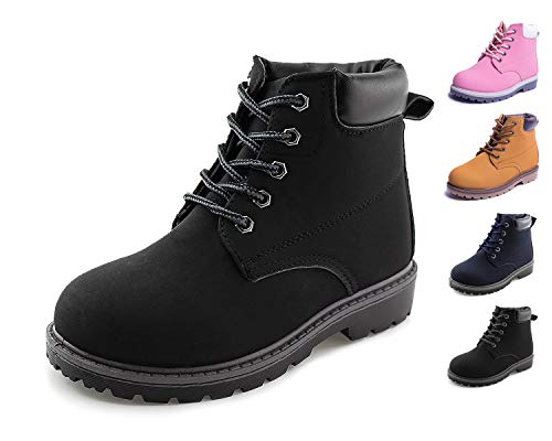 Kid Lace Up Boots