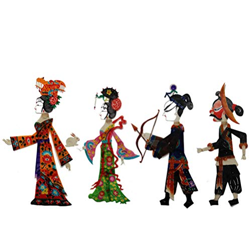 GAOJIAN Juguete de títeres de Sombra, Shadow Play Handicrafts para Regalos (No es un Producto Terminado) Chang'e to The Moon