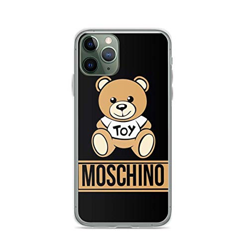 Phone Case Mos-chi-no Bear Compatible with iPhone 6 6s 7 8 X XS XR 11 Pro Max SE 2020 Samsung Galaxy Accessories Charm Funny