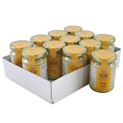 Koals Spreewälder Orange-Honig Senf 12er Set (12 Gläser à 158 ml)