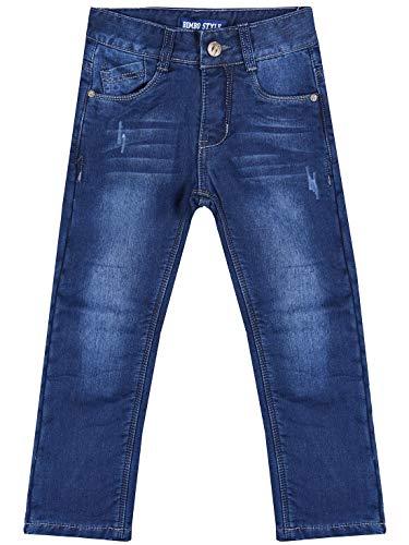 Bimbo Style thermo-jeans voor jongens, elastische tailleband gevoerd 30158