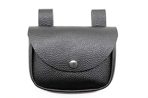RMB® Nageltasche aus Echt-Leder mit 1 Fach und Deckel zum schließen