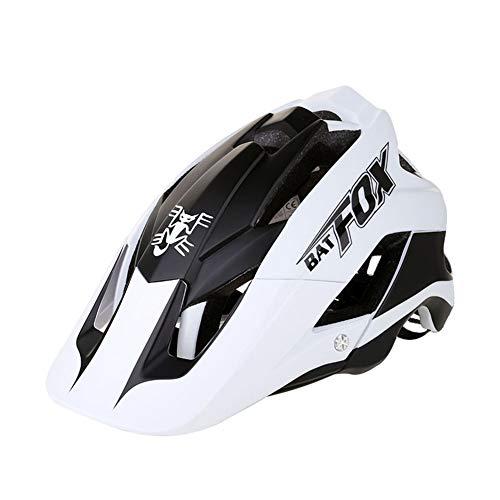 DuShow Casque de vélo pour hommes et femmes Ultraléger, confortable et réglable Taille unique blanc